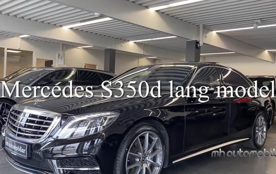 Mercedes S350 d 3,0 aut. lang