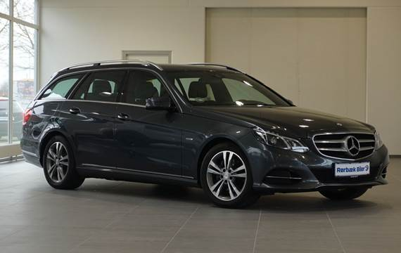 Mercedes E350 3,0 BlueTEC Edition E stc. aut.