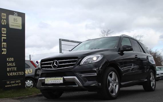 Mercedes ML350 3,0 BlueTEC AMG Line aut. 4Matic