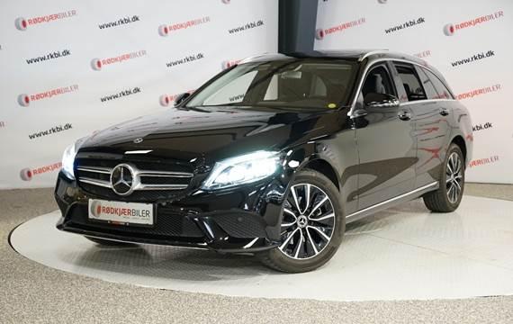 Mercedes C220 d 2,0 Avantgarde stc. aut. 4Matic