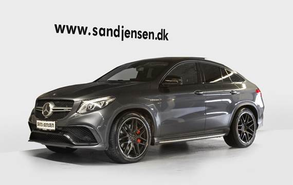 Mercedes GLE63 5,5 AMG S Coupé aut. 4Matic