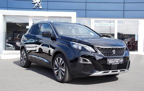Peugeot 3008 1,5 BlueHDi GT Line LTD EAT8  5d 8g Aut.
