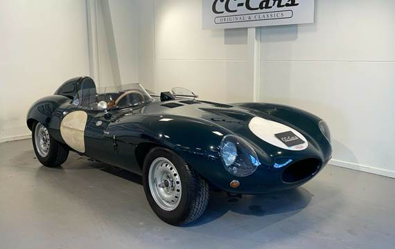 Jaguar Type-D 3,4 Race Replica