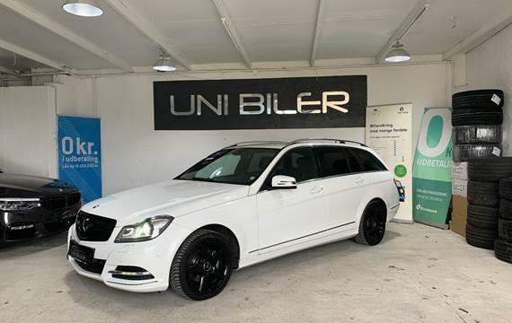 Mercedes C200 2,2 CDi Avantgarde stc. aut. BE