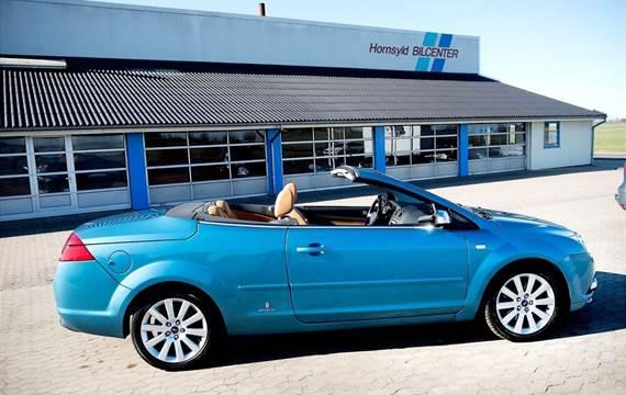 Ford Focus 2,0 Cabriolet Titanium