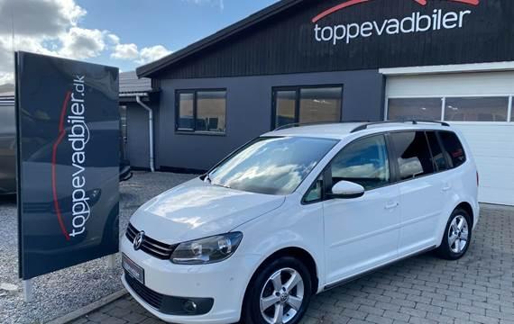 VW Touran 1,6 TDi 105 Comfortline DSG BM Van