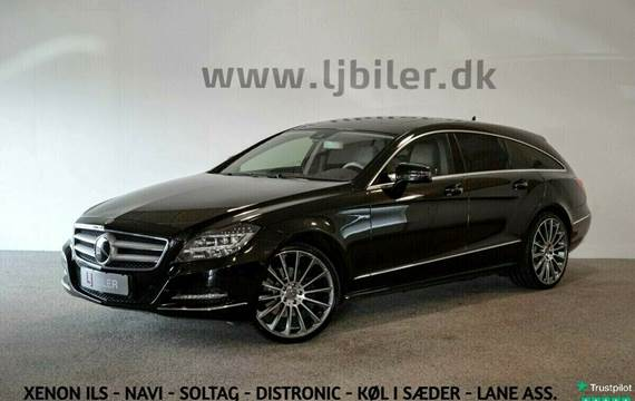 Mercedes CLS350 3,0 CDi Shooting Brake aut. 4Matic BE