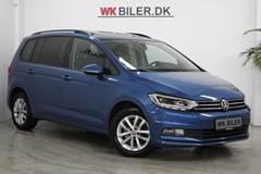 VW Touran 1,6 TDi 115 Comfortline DSG Van