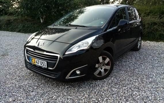 Peugeot 5008 1,6 e-HDi 114 Style ESG Van
