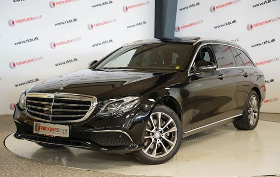 Mercedes E220 d 2,0 Luxury stc. aut.