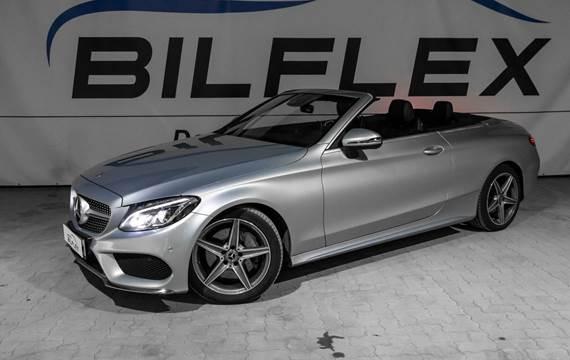 Mercedes C250 d 2,2 Cabriolet aut.