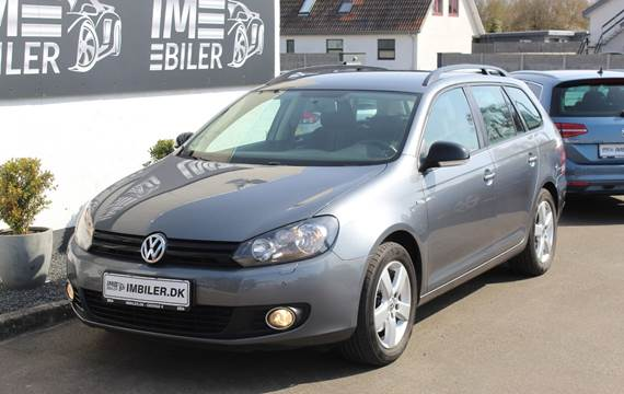 VW Golf VI 1,4 TSi 122 Match Variant