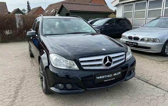 Mercedes C220 2,2 CDi Elegance stc. aut. BE