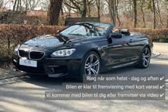 BMW M6 4,4 Cabriolet aut.