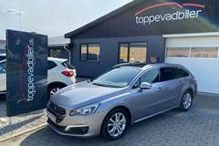 Peugeot 508 2,0 BlueHDi 180 Allure SW EAT6 Van