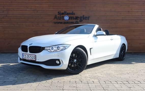 BMW 420d 2,0 Cabriolet aut.