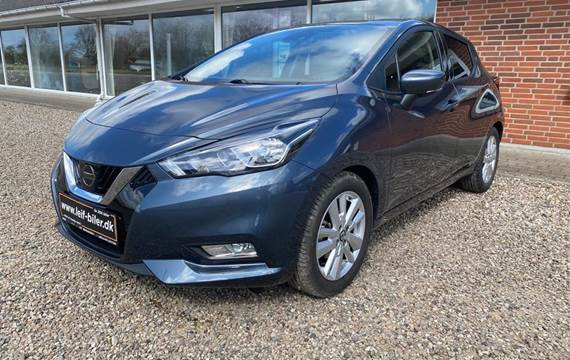 Nissan Micra 1,0 IG-T N-Connecta Start/Stop  5d