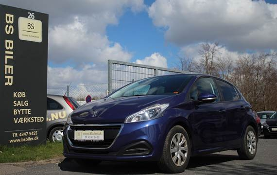Peugeot 208 1,6 BlueHDi 100 Active