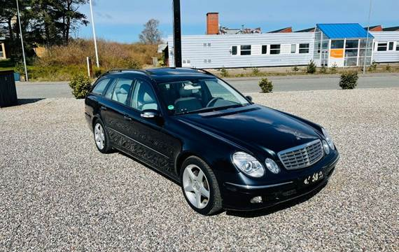 Mercedes E220 2,2 CDi Elegance stc. aut.