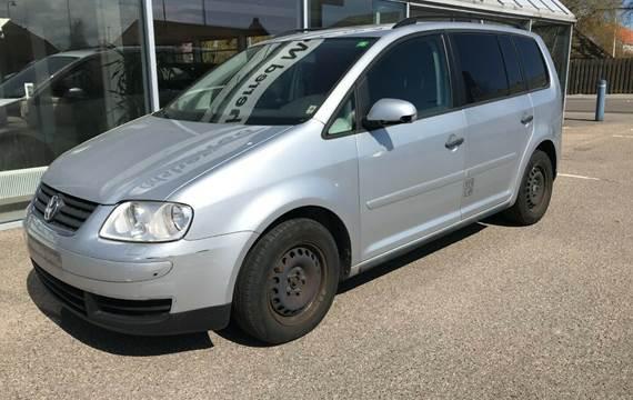 VW Touran 1,9 TDi 105 Conceptline Van
