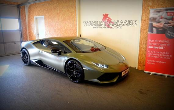 Lamborghini Huracan 5,2 LP610-4