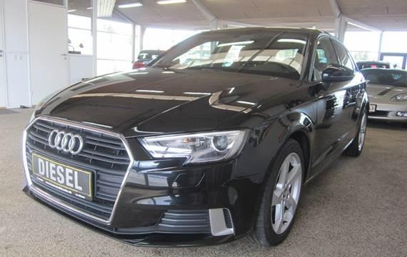 Audi A3 1,6 TDi 116 Sport Sportback S-tr.