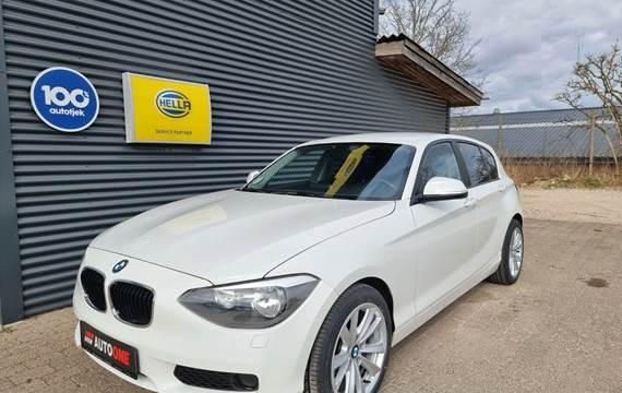 BMW 116d 2,0 aut.