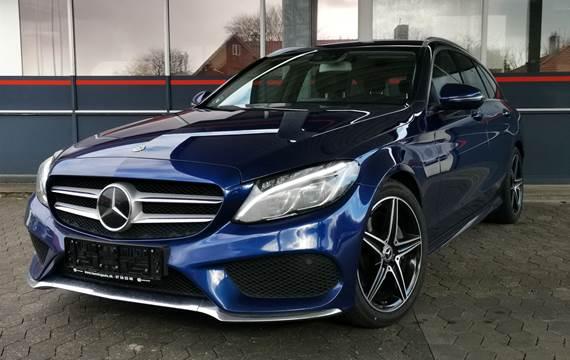 Mercedes C220 d 2,2 AMG Line stc. aut. 5d