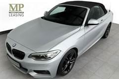 BMW 230i 2,0 Cabriolet aut.