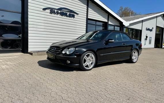 Mercedes CLK200 2,0 Komp. Cabriolet aut.