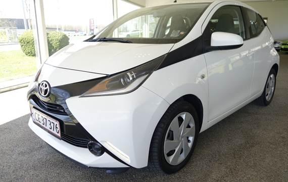 Toyota Aygo 1,0 VVT-i x-wave