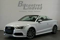 Audi A3 1,4 TFSi 150 S-line Cabriolet S-tr.