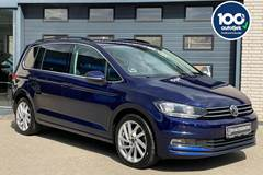 VW Touran 1,6 TDi 115 Comfortline Connect DSG 7prs