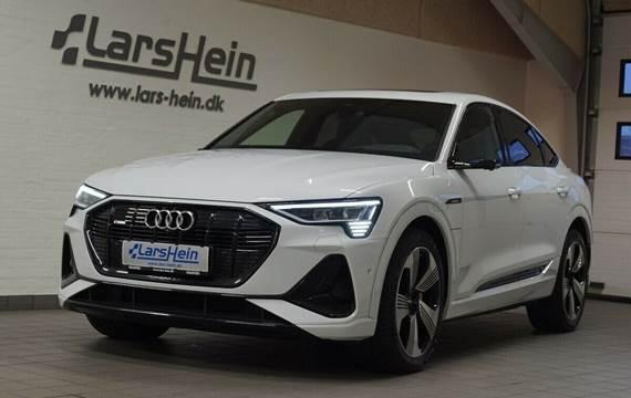 Audi e-tron S-line Sportback quattro