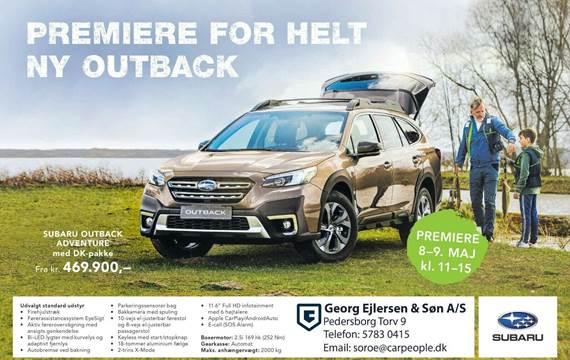 Subaru Outback 2,5 Field L-tr.