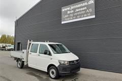VW Transporter 2,0 TDI BMT m/søgerlad DSG  DobKab 7g Aut.