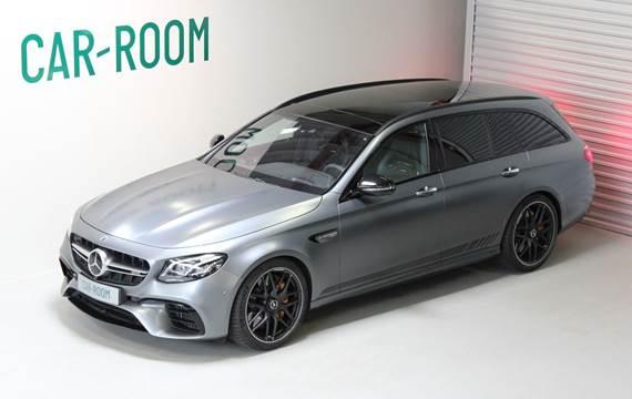 Mercedes E63 4,0 AMG S stc. aut. 4Matic+