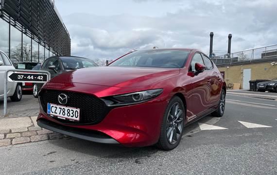 Mazda 3 Skyactiv-G  Mild hybrid Sky m. Style Pack 150HK 5d 6g