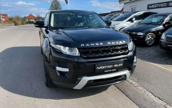 Land Rover Range Rover evoque 2,2 SD4 Prestige Coupé aut. Van