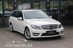 Mercedes C250 2,2 CDi AMG Line stc. aut. 4Matic