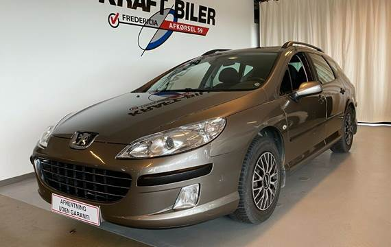Peugeot 407 2,0 XR stc.