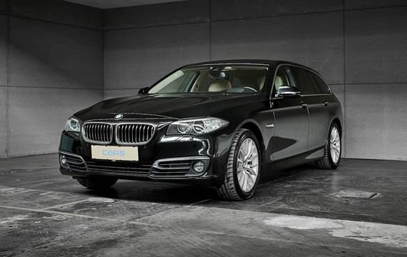 BMW 520 Xd Touring 2,0 D Steptronic 184HK Stc 8g Aut.
