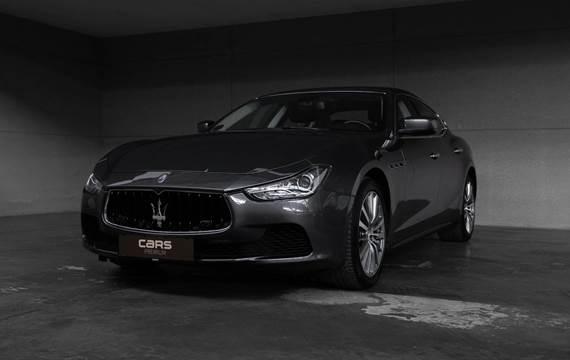 Maserati Ghibli V6 S Q4 410HK 8g Aut.