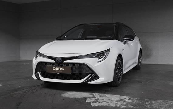 Toyota Corolla Touring Sports 1,8 B/EL H3 Premiumpakke E-CVT 122HK Stc Trinl. Gear