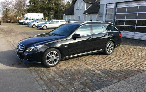 Mercedes E220 2,2 BlueTEC Edition E stc. aut.