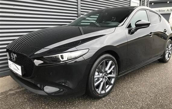 Mazda 3 2,0 Skyactiv-G  Mild hybrid Cosmo m. Technology Pack  5d 6g Aut.