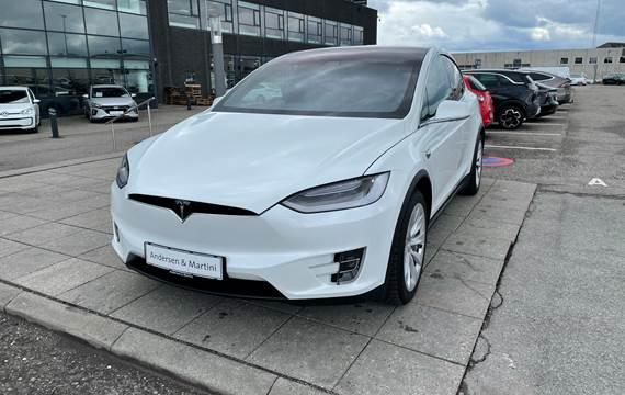 Tesla Model X 100D el EL 6 sæder AWD 525HK 5d