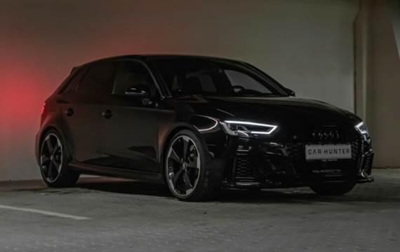 Audi RS3 2,5 TFSI 400 HK *All black*