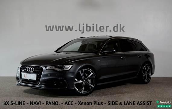 Audi A6 3,0 TDi 313 S-line Avant quattro Tiptr.