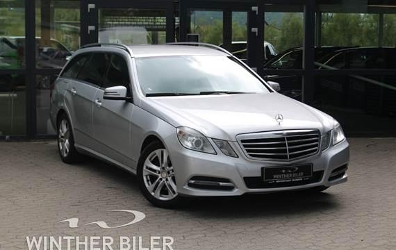 Mercedes E300 2,2 BlueTEC Hybrid Avantgarde stc. aut.